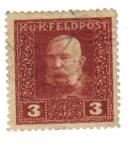 Sellos de Europa - Austria -  Emperador Franz Joseph