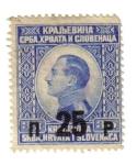 Stamps Europe - Yugoslavia -  SELLO REY ALEXANDER Kraljevina Srba, Hrvata i Slovenaca