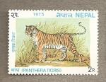 Sellos del Mundo : Asia : Nepal : Pantera