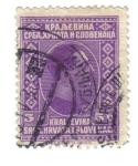 Stamps Yugoslavia -  SELLO REY ALEXANDER Kraljevina Srba, Hrvata i Slovenaca