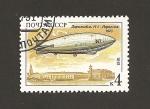 Stamps Russia -  Dirigible Noruega de 1923