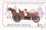 Stamps Hungary -  2428 - Mercedes de 1901