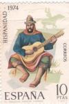 Sellos de Europa - España -  El Gaucho-HISPANIDAD-1974   (W)