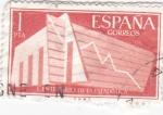 Stamps Spain -  centenario de la estadística   (W)