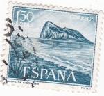 Stamps Spain -  Campo de Gibraltar    (W)