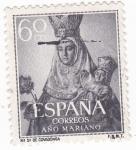Sellos de Europa - España -  Ntra. Sra. de Covadonga -AÑO MARIANO  (W)