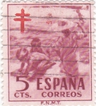 Stamps : Europe : Spain :  Pro-Tuberculosos   (W)