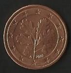 monedas de Europa - Alemania -  EURO CENT - ALEMANIA (POSTERIOR)