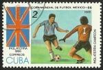 Sellos del Mundo : America : Cuba : COPA MUNDIAL DE FUTBOL MEXICO 86