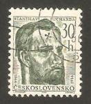 Sellos de Europa - Checoslovaquia -  1463 - Stanislav Sucharda, escultor