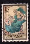 Stamps Spain -  el evangelista s. mateo- rosales