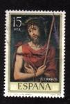 Sellos de Europa - España -  ecce- homo- juan de juanes