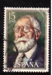Stamps Spain -  Menendez Pidal- centenario de celebridades