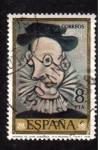 Sellos de Europa - España -  retrato de jame sabartes- picasso