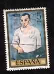 Sellos de Europa - España -  autorretrato- picasso