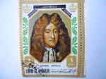 Sellos de Asia - Emiratos Árabes Unidos -  UMM AL QIWAIN- Retrato de James II (1685-1689= rey de Inglaterra.
