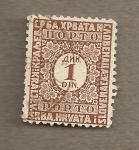 Stamps Yugoslavia -  Filigrana