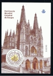 Stamps Spain -  Edifil  4709 SH  Patrimonio Mundial. Catedral de Burgos.