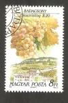 Sellos de Europa - Hungría -  3287 - Región vinicola de Hungría, vista de la localidad y cepa, Badacsony et Riesling italien