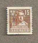 Sellos de Europa - Suecia -  Aniv 2º Centenario nacimiento escultor Sergel