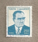 Sellos de Asia - Turquía -  Kemal Atartuk