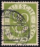 Sellos de Europa - Alemania -  VALOR NUMERAL Y BOCINA.