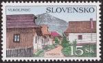 Stamps Slovakia -  Eslovaquia - Vlkolinec