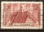 Sellos de Europa - Francia -  Jean Jaures.
