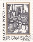 Stamps Hungary -  %00 años de Impresióm de Libros enHungría
