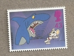 Stamps United Kingdom -  Personajes TV