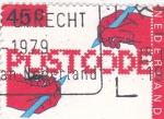 Sellos de Europa - Holanda -  Codigos postales