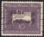 Sellos de Europa - Alemania -  200 Aniv. del nacimiento de Wolfgang Amadeus Mozart, compositor