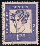 Sellos de Europa - Alemania -  Annette von Droste-Hülshoff