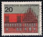 Stamps Germany -  Antiguo Ayuntamiento de Hannover.