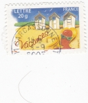 Stamps France -  Vacançes