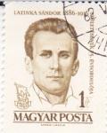 Stamps Hungary -  Latinka Sándor