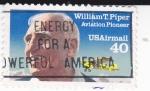 Sellos de America - Estados Unidos -  Wiliam T. Piper pionero de la aviación