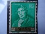 Stamps Spain -  Ed:1245- Pintores:Diego Velázquez-Día del Sello-¨ESOPO¨