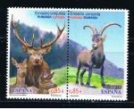 Sellos de Europa - España -  Edifil  4753-4754  Fauna. Emisión conjunta España-Rumanía.