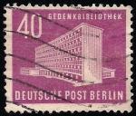 Stamps Germany -  BIBLIOTECA.