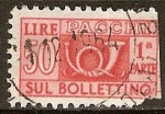 Stamps Europe - Italy -  Pacchi- Sul Lire bollettino.