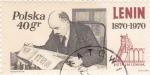 Sellos de Europa - Polonia -  LENIN 1870-1970
