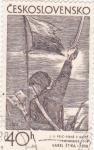 Stamps Czechoslovakia -  Ilustración de Karel Stika