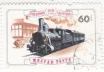Stamps Hungary -  Locomotora