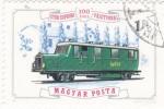 Sellos de Europa - Hungría -  Locomotora