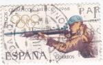 Stamps Spain -  Juegos Olímpicos de México -Tiro   (X)