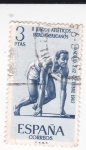 Stamps Spain -  II Juegoa Iberoamericanos - Salida  (X)
