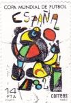 Stamps Spain -  Copa Mundial de Futbol ESPAÑA 82   (X)