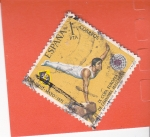 Stamps Spain -  IX Copa Europea de Gimnasia Masculina   (X)