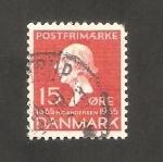 Stamps Denmark -  232 - Hans Christian Andersen